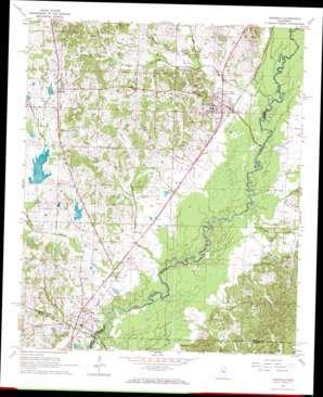 Goodman topo map