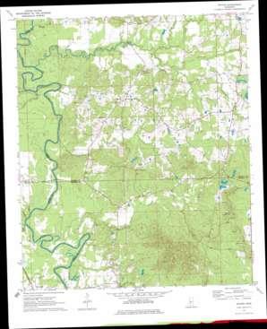 Whites topo map