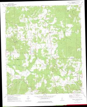 Dabney Crossroads USGS topographic map 32090a4