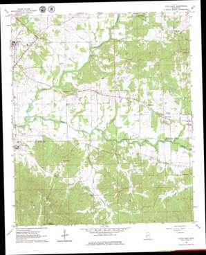 Utica East topo map