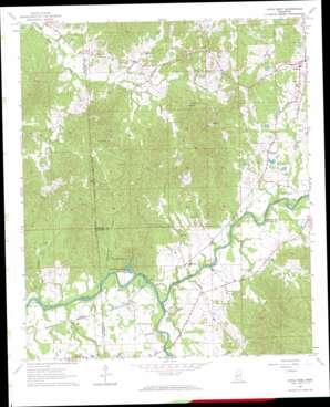 Utica West topo map