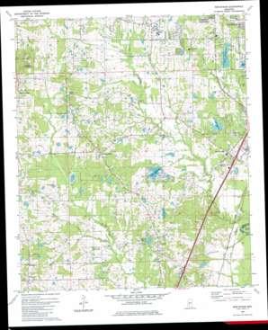 New Byram topo map