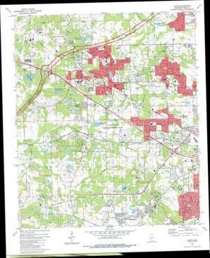 Clinton topo map