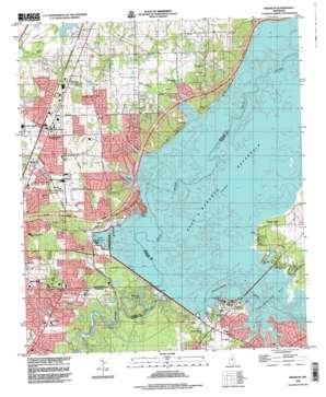 Madison topo map