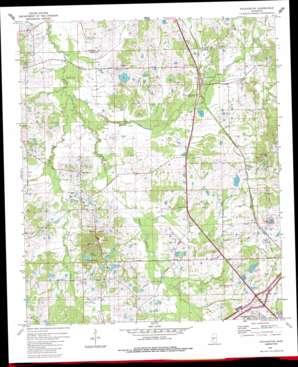 Pocahontas USGS topographic map 32090d3