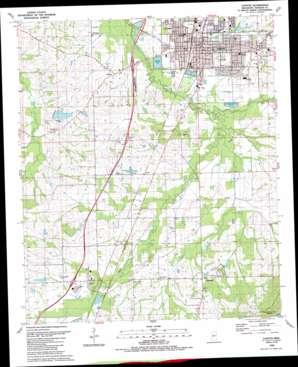 Canton topo map