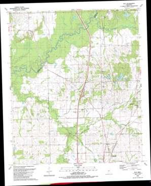 Way topo map