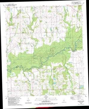 Berryville topo map