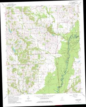 Vaughan topo map