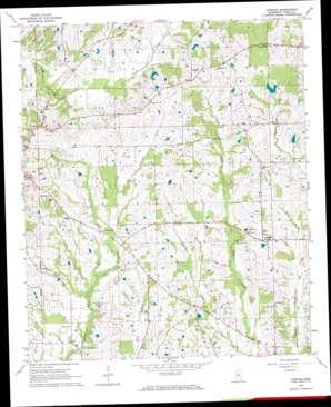 Linwood topo map