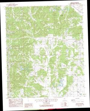 Benton USGS topographic map 32090g3