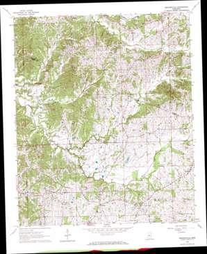 Zeiglerville topo map