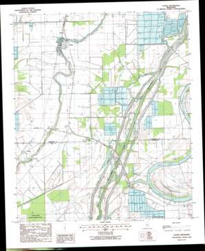 Louise USGS topographic map 32090h5