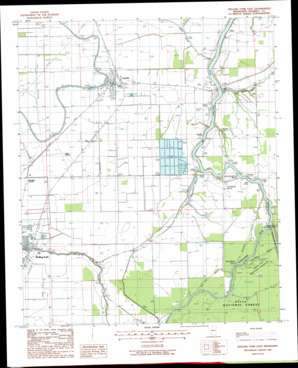 Rolling Fork East topo map