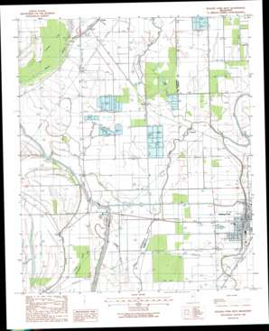 Rolling Fork West topo map