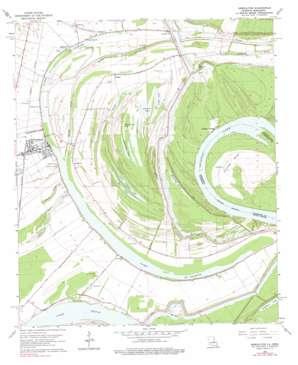 Newellton topo map
