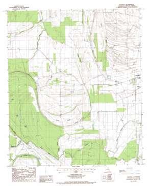 Saranac topo map