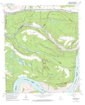 Bedford topo map