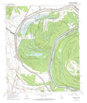 Somerset topo map