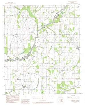 Liddieville topo map
