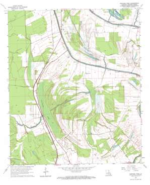 Fortune Fork topo map