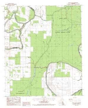 Indian Lake topo map
