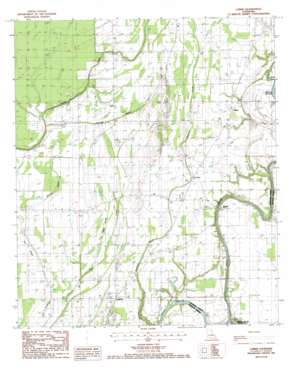 Lamar topo map