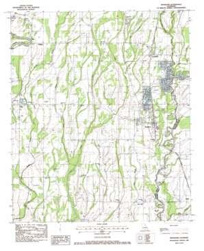 Mangham USGS topographic map 32091c7
