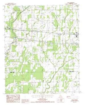 Dunn topo map