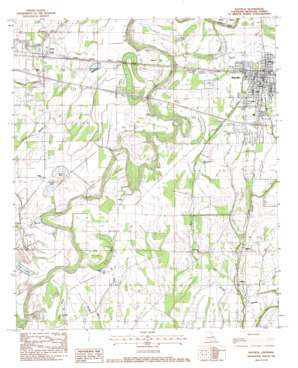 Rayville USGS topographic map 32091d7