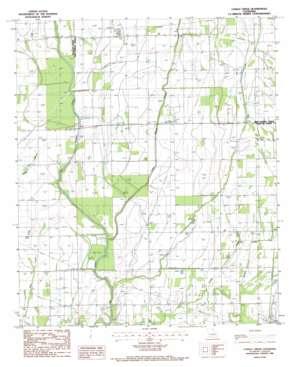 Congo Creek topo map