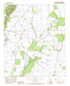Collinston East USGS topographic map 32091f7