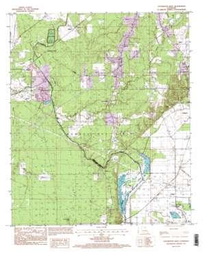 Collinston West topo map