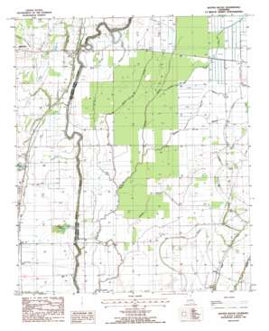 Baxter Bayou USGS topographic map 32091g3