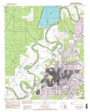Bastrop USGS topographic map 32091g8