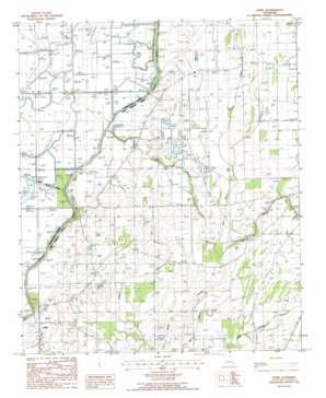 Fiske topo map