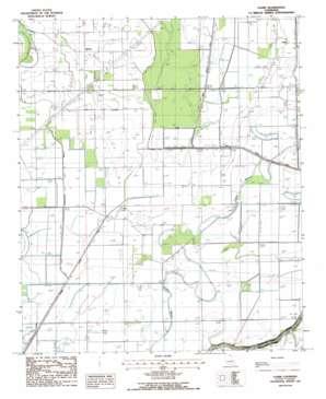 Laark topo map