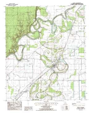 Bonita USGS topographic map 32091h6
