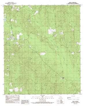 Sikes topo map