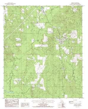 Dodson topo map