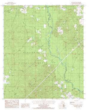 Iron Branch topo map