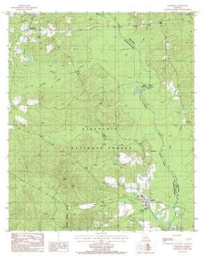 Goldonna topo map