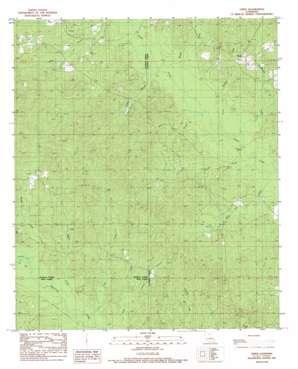 Vixen topo map