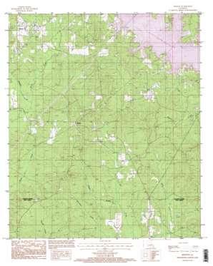 Weston topo map