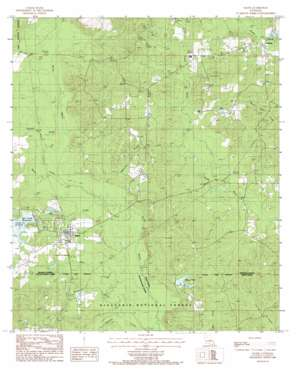 Saline USGS topographic map 32092b8
