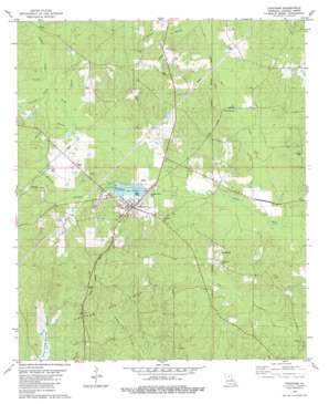 Chatham topo map