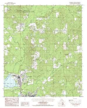 Jonesboro North topo map