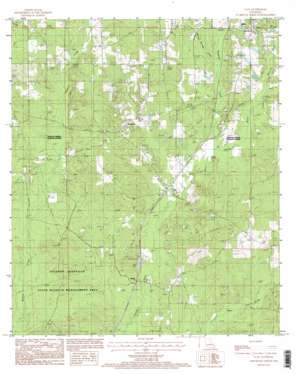 Clay USGS topographic map 32092d6