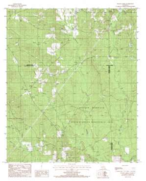 Wilson Creek topo map