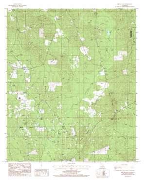Bryceland topo map